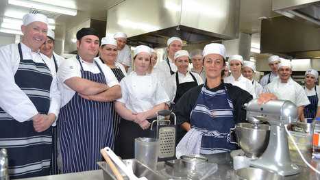 TAFE students benefit from teacher's French connection - South Coast Register | Hospitality Industry | Scoop.it