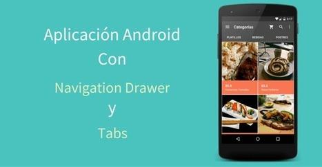 Aplicación Android Con Navigation Drawer Y Tabs | Bazaar | Scoop.it