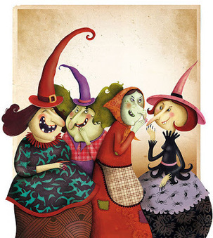 FLE en ESO: Les sorcières cachent le vocabulaire de Halloween | FLE enfants | Scoop.it