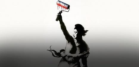 #SprayForParis : les plus beaux coups de bombes (de peinture) contre le terrorisme | Remue-méninges FLE | Scoop.it