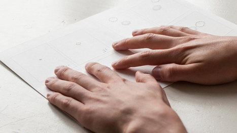An Interaction Designer Creates A Tactile Comic Book For The Blind | What's new in Visual Communication? | Scoop.it