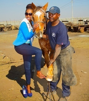 "South Africa's ""Project Pedicure"" Improves Toenails of Horses and Women 