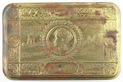 Tin - Princess Mary's Christmas Gift, 1914 - Museum Victoria | WW1 Gallipoli | Scoop.it