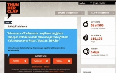 Digital Planner, Digital Marketing / Venturini: Innovativo. Cliccate. Aiutate anche voi - basta un tweet - potete fare qualcosa per la povertà globale. | Social Media Italy | Scoop.it