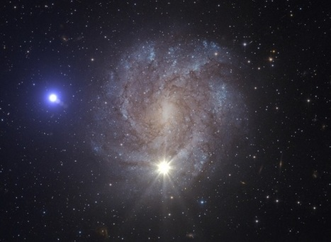 Thermonuclear supernova ejects galaxy's fastest star | Vloasis sci-tech | Scoop.it