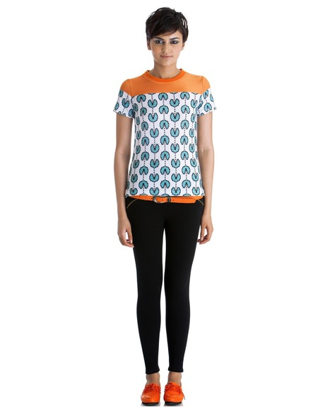 Not Just Another Basic Tee - Blue by Stylista   Stylista   Scoop.it
