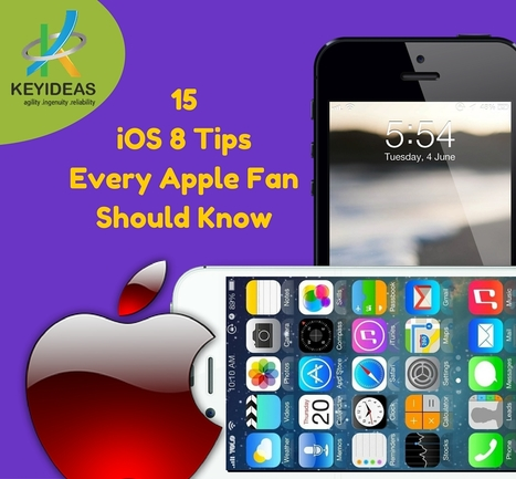 15 iOS 8 Tips Every Apple Fan Should Know | iphone application development | Scoop.it