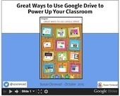 Great Ways to Use Google Drive to Power Your Classroom | Cool Tools for 21st Century Learners | Chromebooks at School | Scoop.it