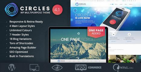 Circles v4.1 Retina Responsive Multi-Purpose WP Theme Free Download | Free Themes Premium | Scoop.it