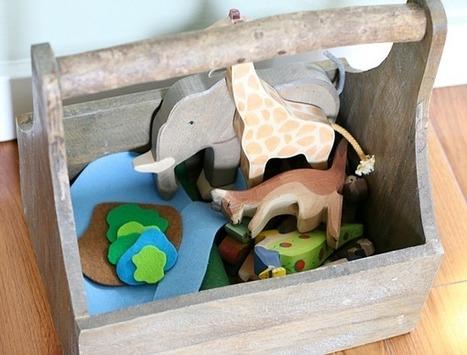 How to Easily Encourage Imaginative Play Using Felt - Buggy and Buddy | Preschooler | Scoop.it