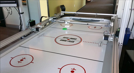 Microsoft built a robotic air hockey table to show off Windows 10 | Heron | Scoop.it