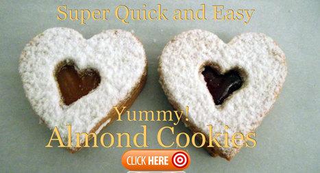 Almond Cookie Recipe -  Italian Almond Biscuits | Sardinia Italy Sardegna | Scoop.it