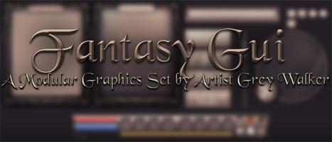 Modular Fantasy GUI Set - Unity | Gaming | Scoop.it