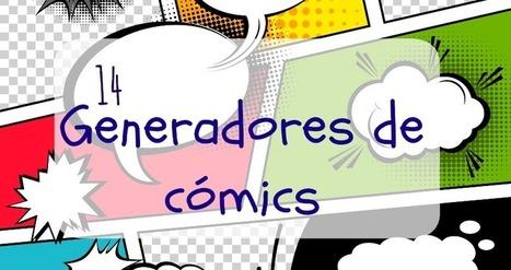 14 Generadores de cómics y dibujos animados | Las TIC en el aula de ELE | Scoop.it