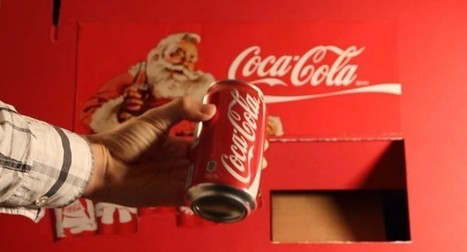DIY : Une machine distributrice de Coca-Cola fabriqué en carton | Semageek | DIY - 3D printing- Maker | Scoop.it