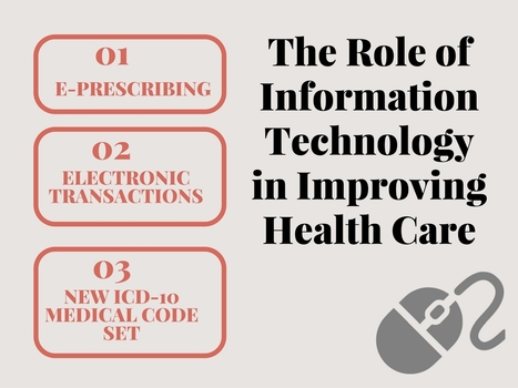The Role of Information Technology in Improving Health Care | IT Support and Hardware for Clinics | Scoop.it