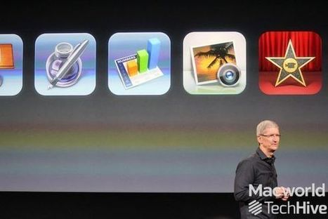 Apple to make iWork, iLife apps free to new iOS customers | Macworld | Instructional Technology News | Scoop.it