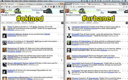 Moving at the Speed of Creativity   Using TweetChat to Follow Educational Twitter Chats   Twitter in Adult Education   Scoop.it