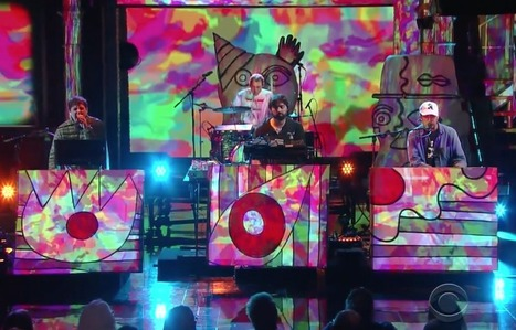 "Animal Collective perform ""FloriDada"" on Colbert — watch 