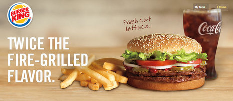Burger King lance une frite moins grasse, son arme anti-obésité - Economie - MYTF1News   Food   Scoop.it