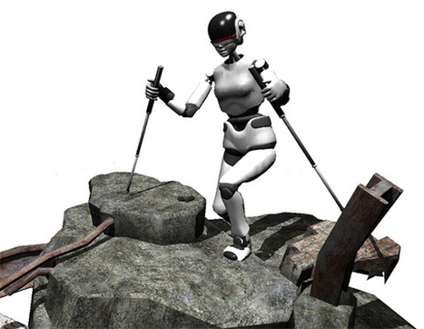 SupraPed Robots Will Use Trekking Poles to Hike Across Rough Terrain | Amazing Science | Scoop.it