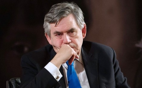 Gordon Brown traitor to British people tops list of MPs with extra earnings - Telegraph | Dave's Diary | Scoop.it