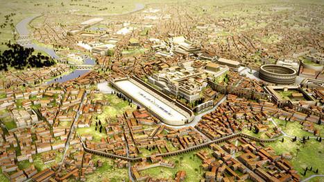 Viaje al pasado: un video en 3D muestra la antigua Roma como nunca la habíamos imaginado - RT | History 2[+or less 3].0 | Scoop.it