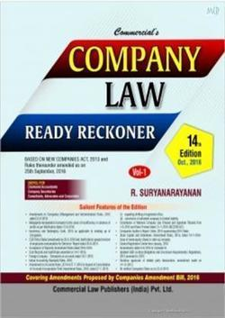 Company Law Ready Reckoner (Set Of Two Volumes), Buy Company Law Ready Reckoner | Accounting Books - Law, Lega and Taxation Books | Scoop.it