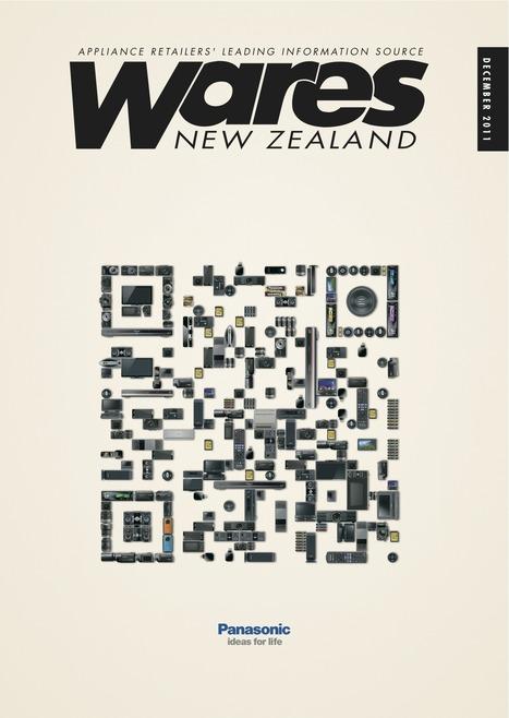 QRcode Design Panasonic (New Zealand) | QRdressCode | Scoop.it