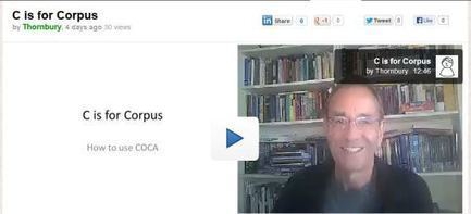 C is for (COCA) Corpus | Concordancers | Scoop.it