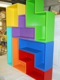 DIY-Tétris Shelves | DIY-UPCYCLING-RECYCLED | Scoop.it