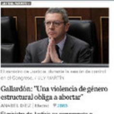 FOTO Ruíz-Gallardón pidiendo a los dioses fuerzas sobrehumanas para llegar a creerse (un poco) la burrada que ha dicho | Partido Popular, una visión crítica | Scoop.it