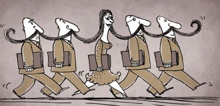 Egyptian Female Cartoonist Pokes Fun at Fundamentalists » Counterpunch | Fitness and PTSD | Scoop.it