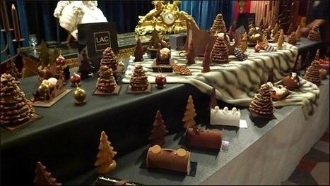 Nice, le chocolatier Pascal Lac présente ses bûches et desserts de Noël 2013 au Negresco | La Gastronomie | Scoop.it
