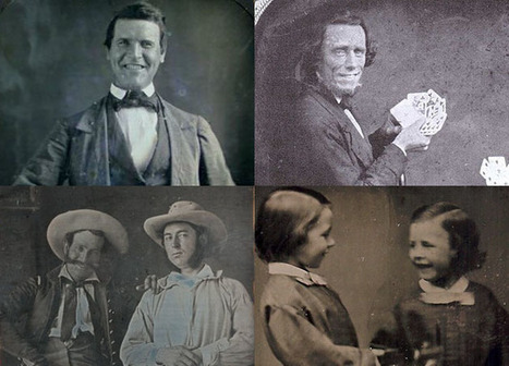 The Earliest Known Photos of People Smiling | xposing world of Photography & Design | Scoop.it