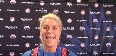 (Video Interview) Excited Elizabeth Beisel Shares What Comes Next for Team USA | Competitive swimming | Scoop.it