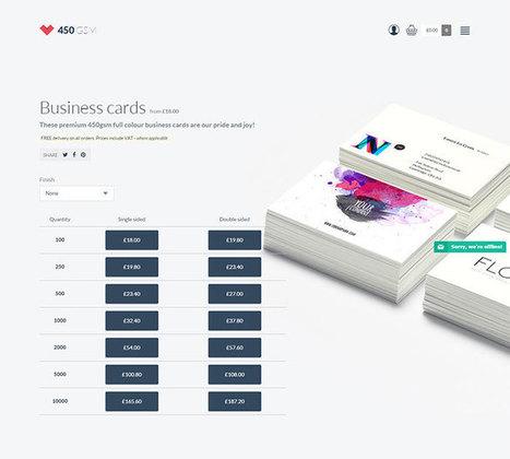 20 Outstanding Checkout Page Designs #websitedesign | WebsiteDesign | Scoop.it