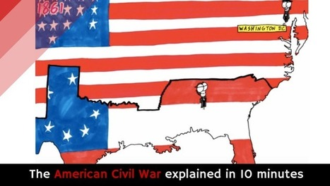 The American Civil War explained in 10 minutes [video] | Historia! | Scoop.it