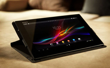 Tablette Android Xperia Sony Z | Actualité des Tablettes Android™ | Scoop.it