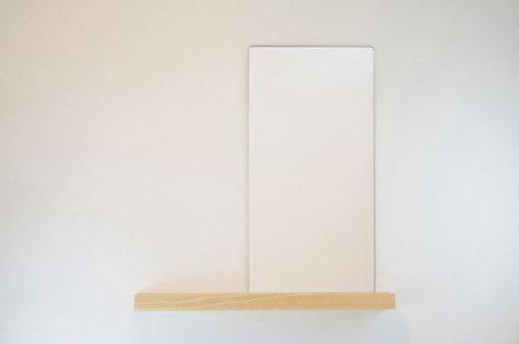 magnetic-wall-shelf-mirror-1 - Design Milk | Du mobilier, ou le cahier des tendances détonantes | Scoop.it