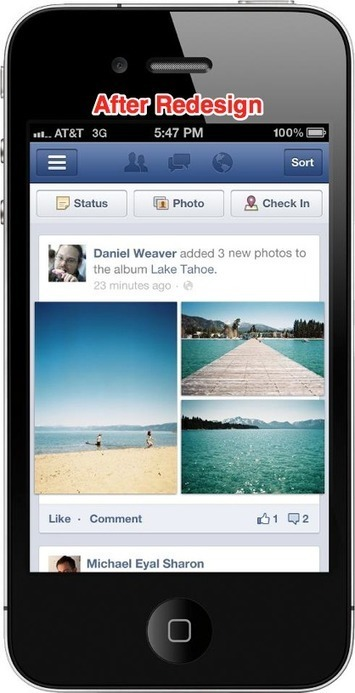 Facebook Takes A Cue From Instagram, Redesigns Mobile Photos 3X Larger | STARTO Community News | Scoop.it