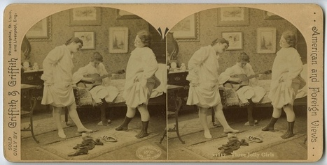 Gently Sexy Boudoir Stereographs for Use in Victorian Parlors | Early photography | Scoop.it