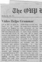 Using Video and ICT to Present Grammar | Technology and language learning | Scoop.it