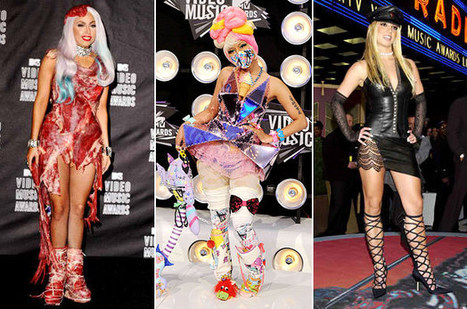 MTV VMAs' 55 Most Outrageous Fashions | Fashion and The Music Industry | Scoop.it