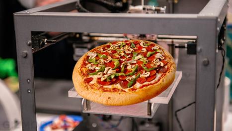 Hoe smaakt een pizza uit een 3D printer? - 3DPrimeur.nl   Alles over 3D Printen   3d Printen   Scoop.it