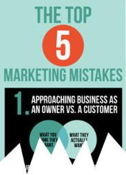 I 5 più gravi errori nel marketing | Carlo Mazzocco | Il Web Marketing su misura | Scoop.it