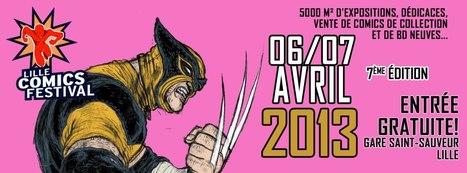 Le Lille comics festival 2013 aura lieu les 6 et 7 avril à la Gare Saint-Sauveur   Veille sur la bande dessinée pour tous   Scoop.it