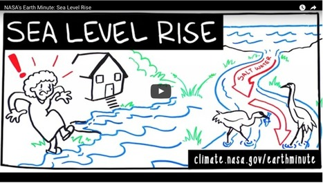 NASA's Earth minute: Sea level rise | Lorraine's Environmental Change &  Management | Scoop.it