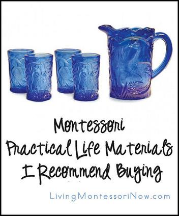 Montessori Monday – Montessori Practical Life Materials I Recommend Buying | Montessori Inspired | Scoop.it