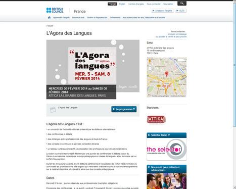 L'Agora des Langues | British Council France | ATTICA la librairie des langues - matériels pédogogiques & actualité | Scoop.it